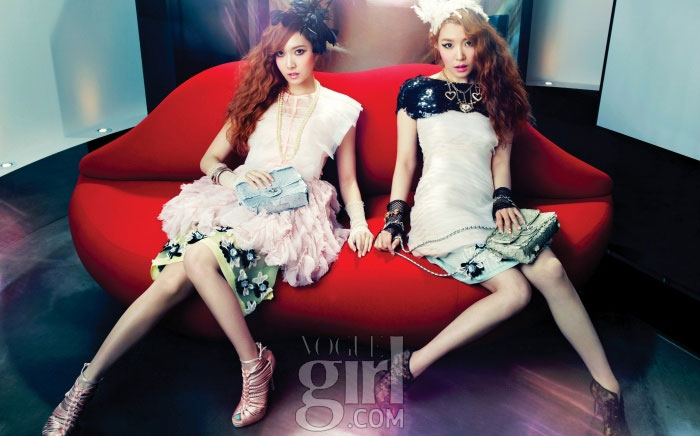 SNSD Jessica Tiffany Vogue Girl Magazine