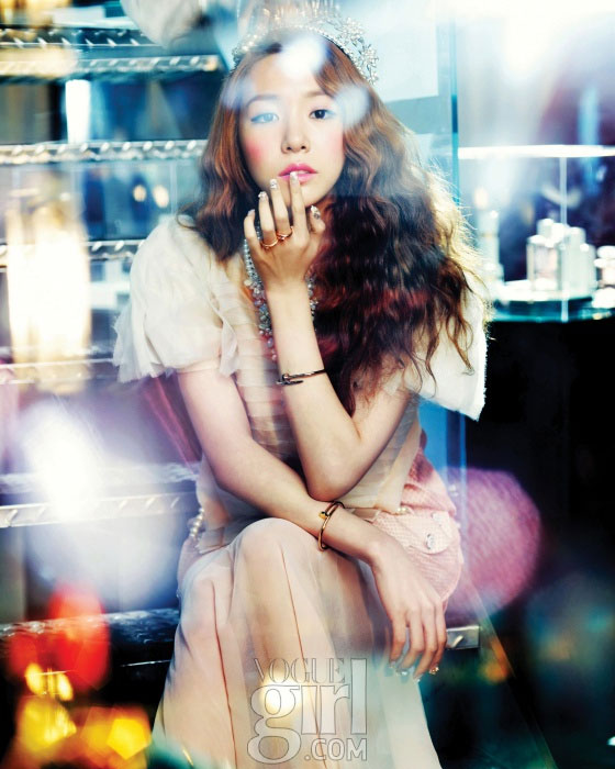 SNSD Tiffany Vogue Girl Magazine