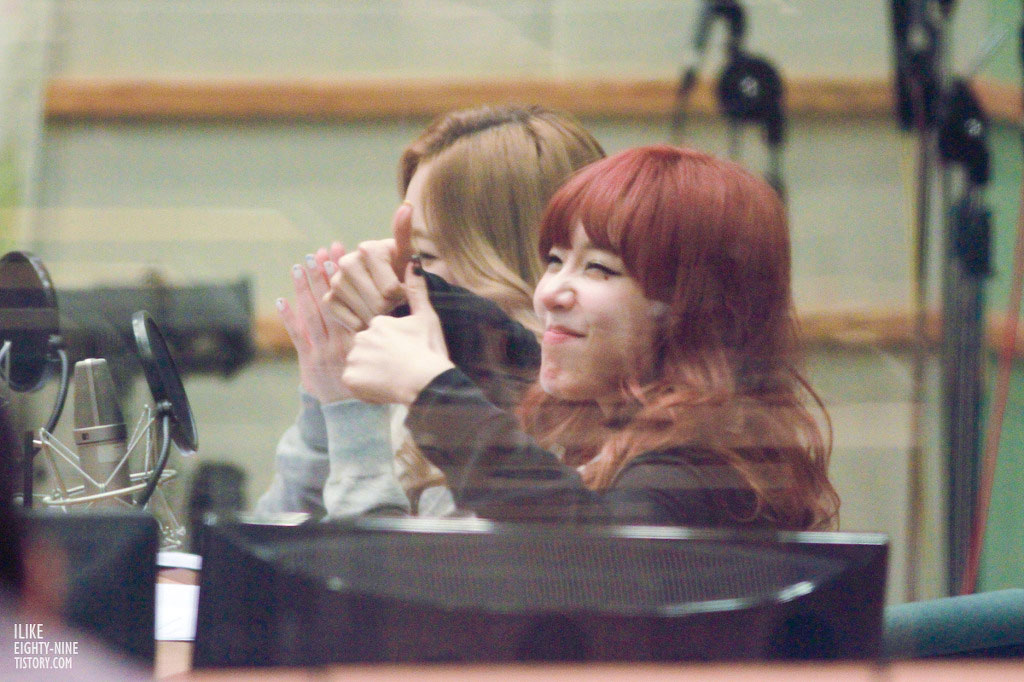 SNSD Tiffany Kiss The Radio