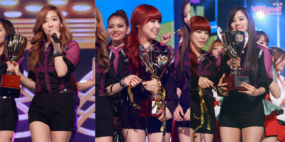 SNSD TaeTiSeo MBC Show Champion