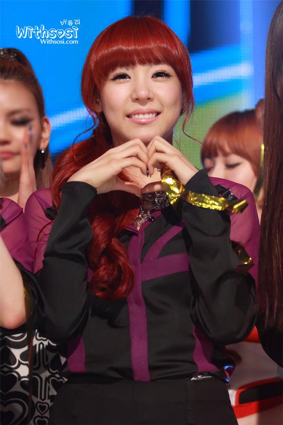 SNSD Tiffany MBC Show Champion