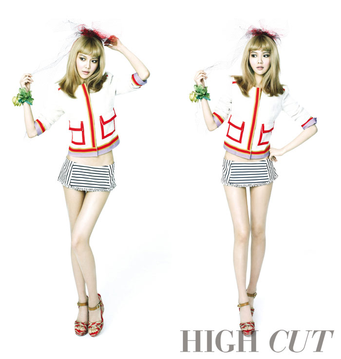 SNSD Sooyoung High Cut Magazine