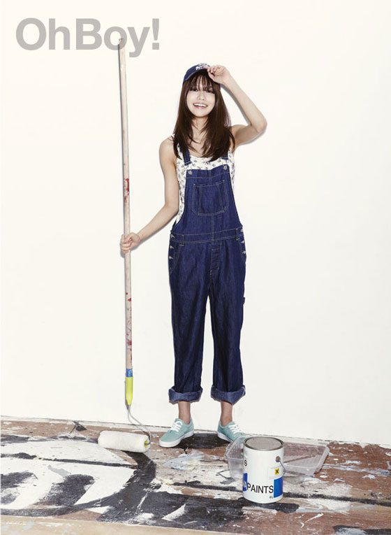 SNSD Sooyoung Oh Boy Magazine