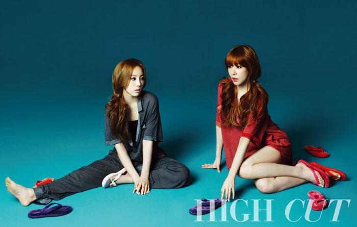SNSD Taeny High Cut Magazine