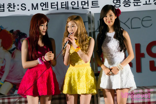 SNSD Taetiseo fan sign event