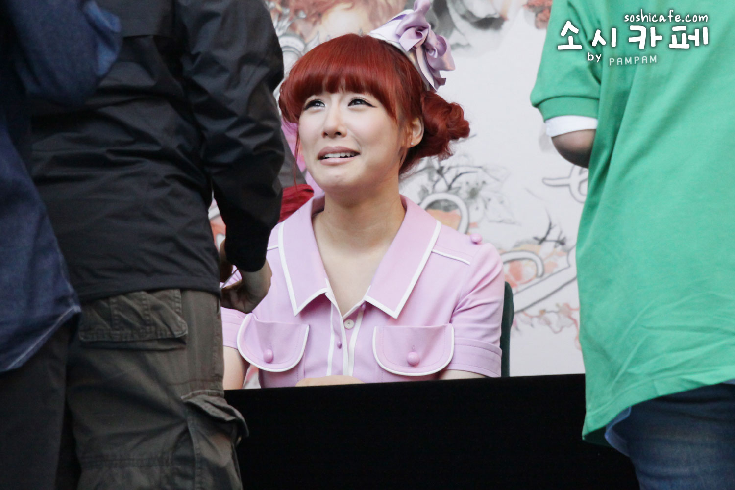 TaeTiSeo Tiffany Twinkle fan signing