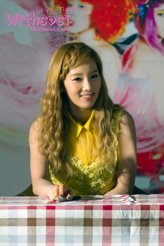 Taetiseo Taeyeon fan sign event