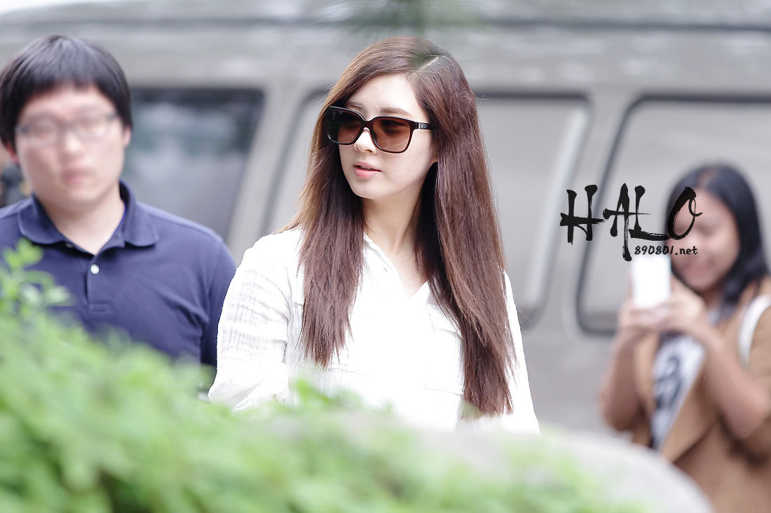 TaeTiSeo arriving at KBS Studio