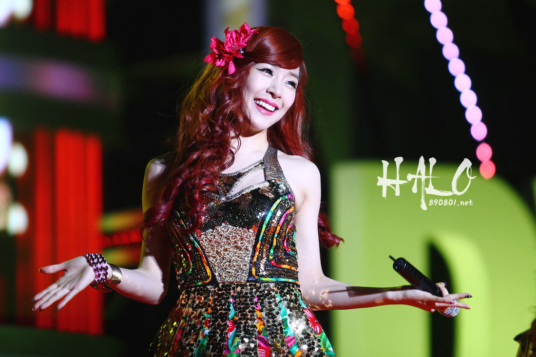 SNSD Tiffany Dream Concert 2012