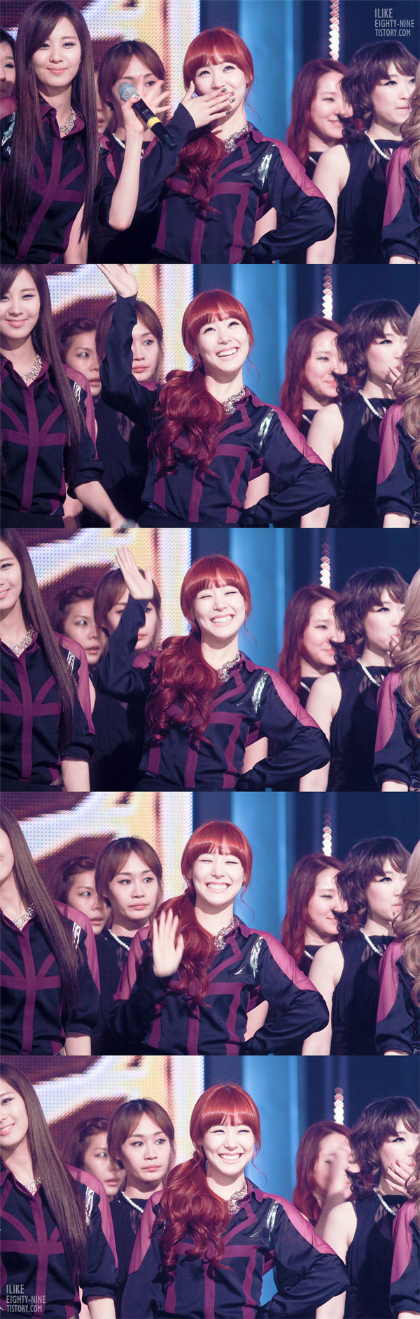 SNSD Tiffany MBC Show Champion