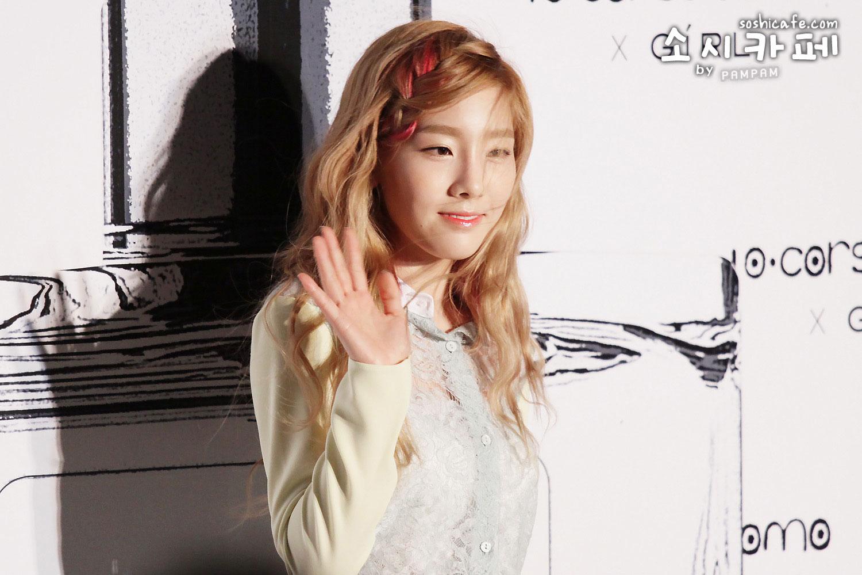 SNSD Taeyeon Girl perfume launching event