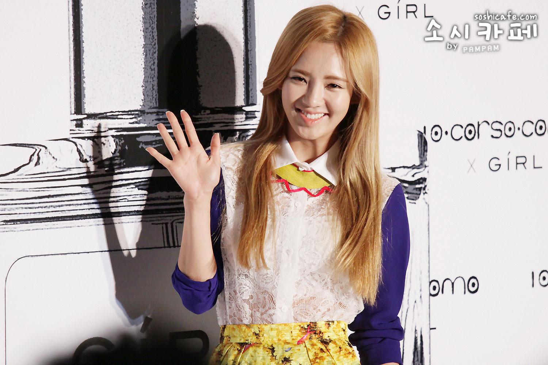 SNSD Hyoyeon Girl perfume launching event