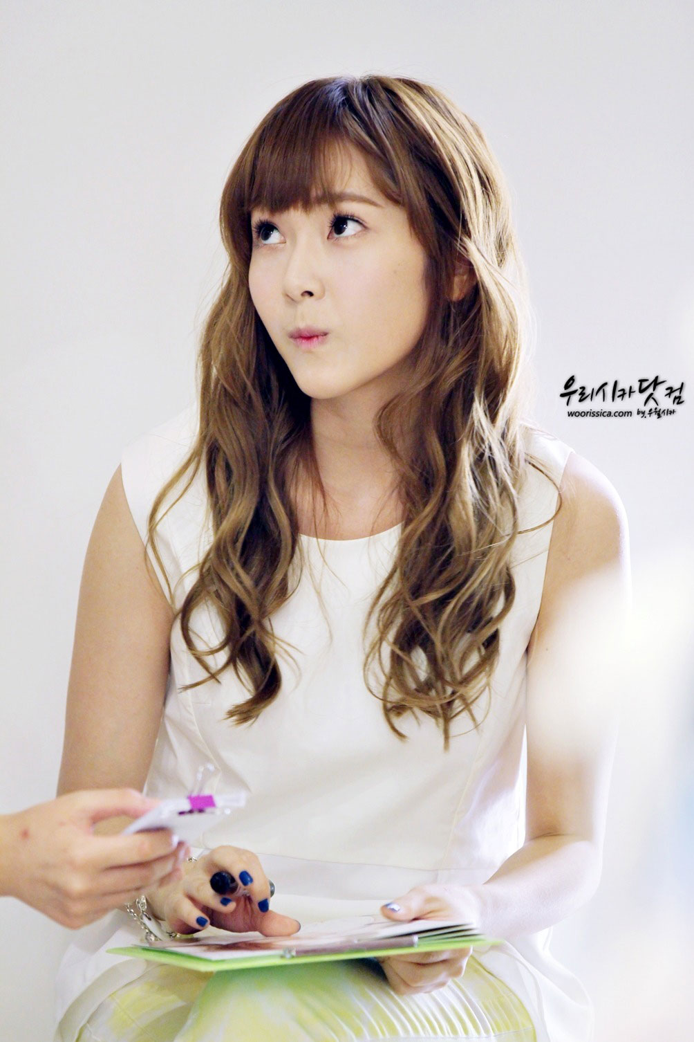 SNSD Jessica Coming Step store visit