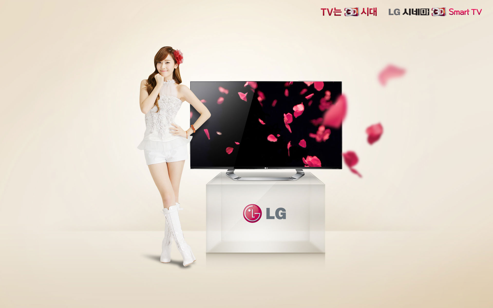 SNSD Jessica LG Cinema wallpaper