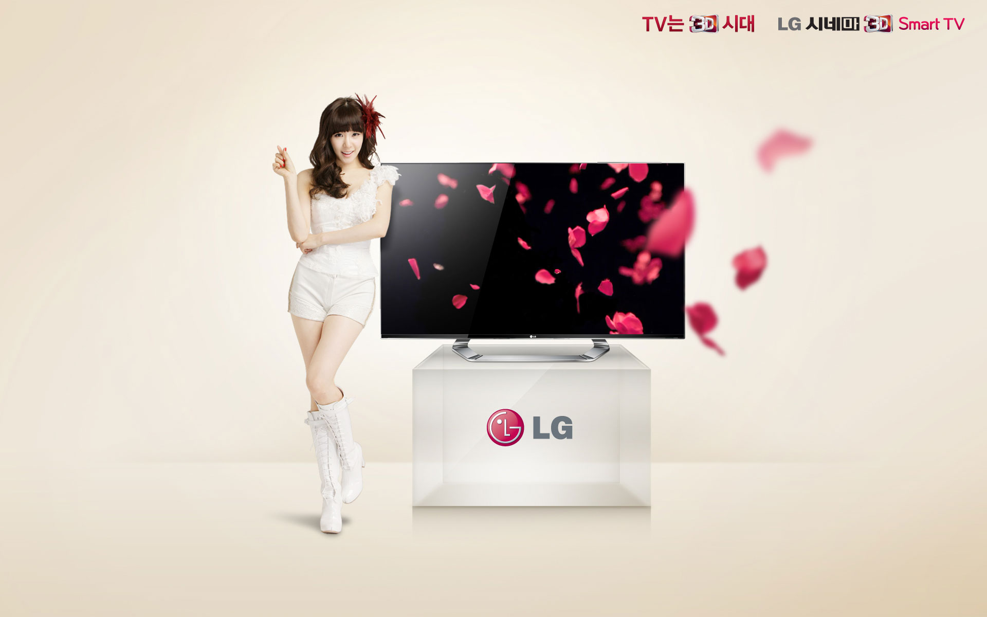 SNSD Tiffany LG Cinema wallpaper