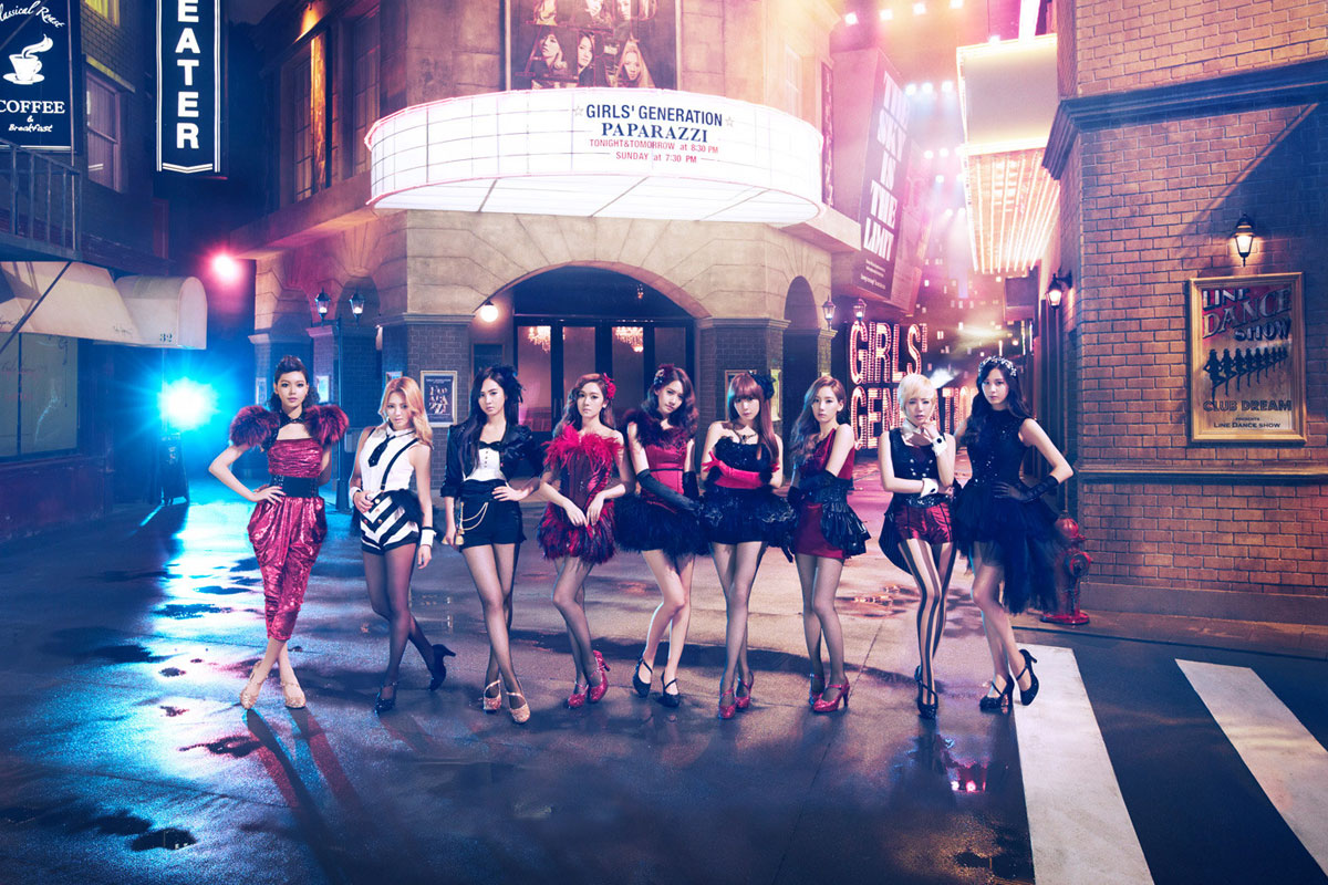 SNSD Paparazzi Japanese single album