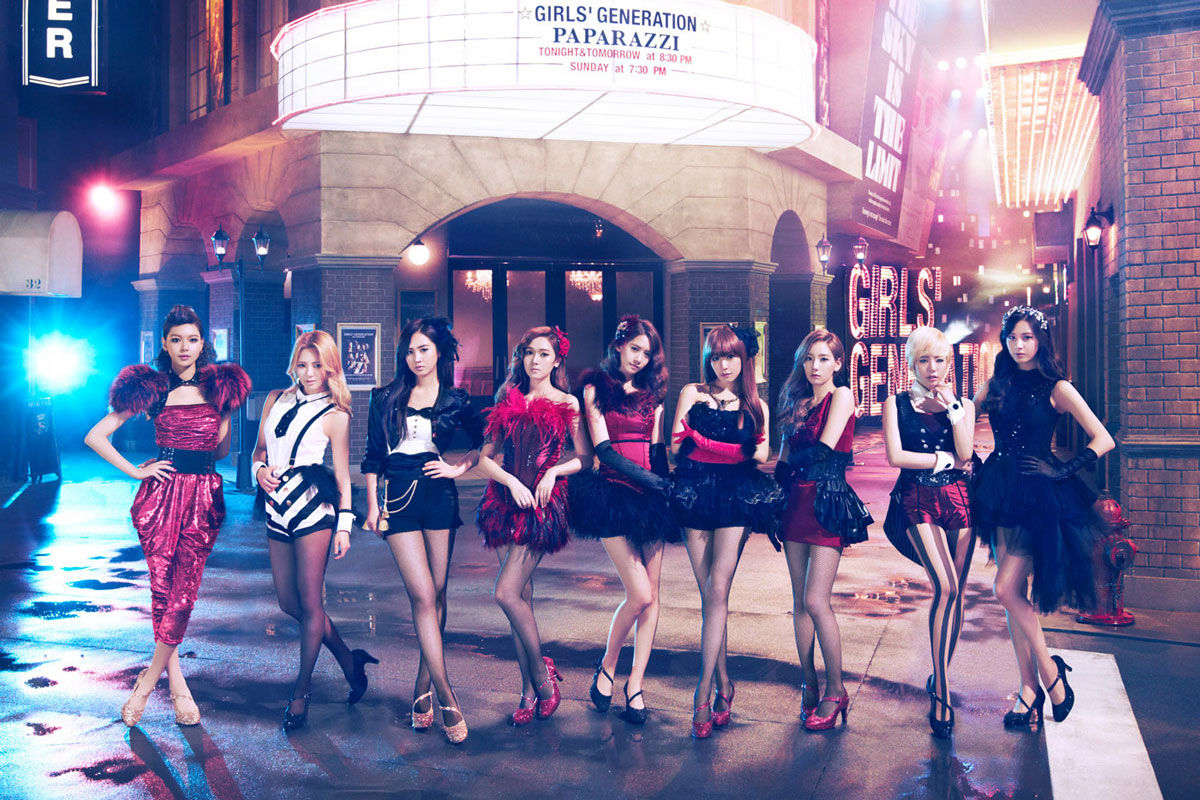 Girls Generation Paparazzi Japanese album