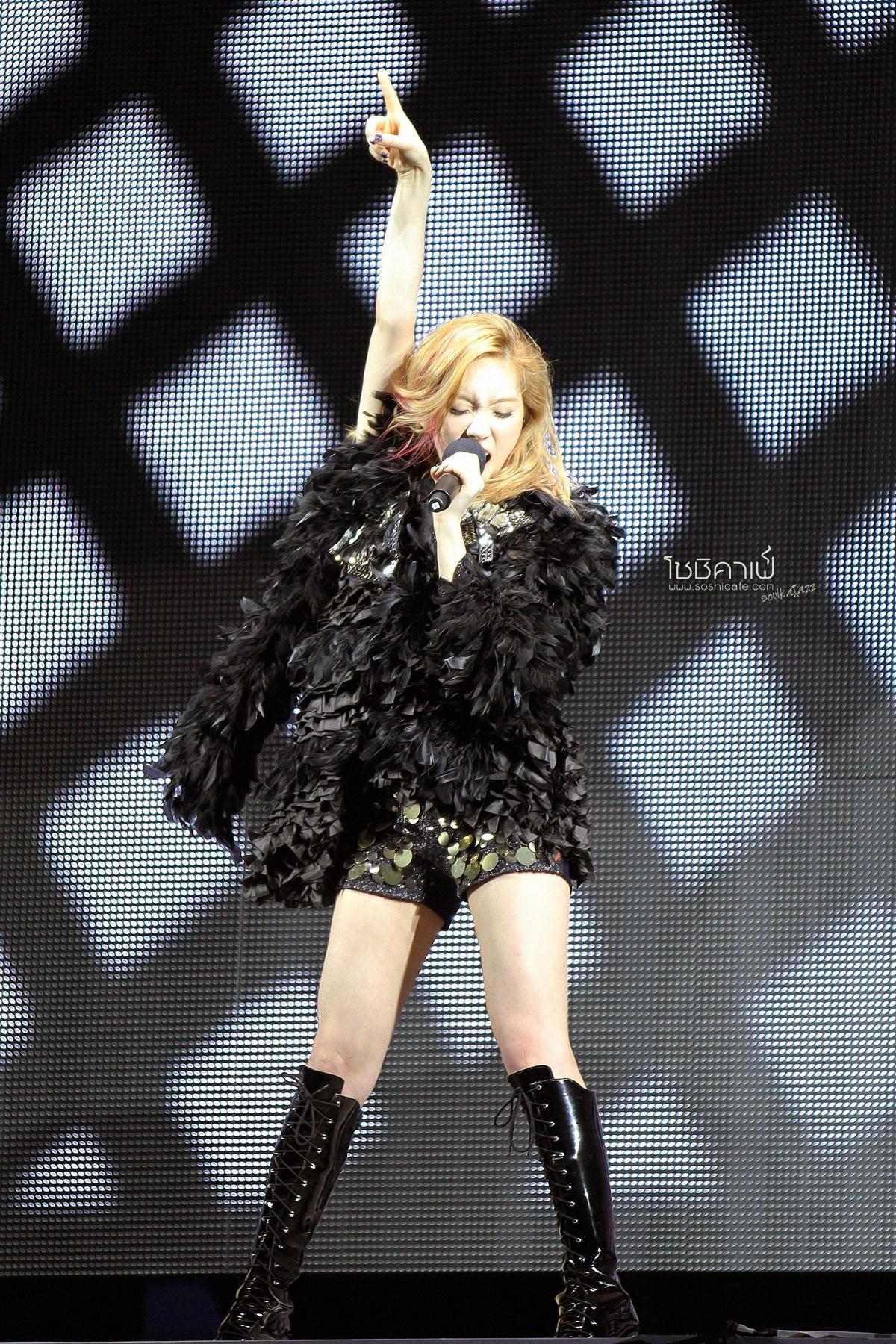 SNSD Taeyeon SMTown Taiwan Tour 2012