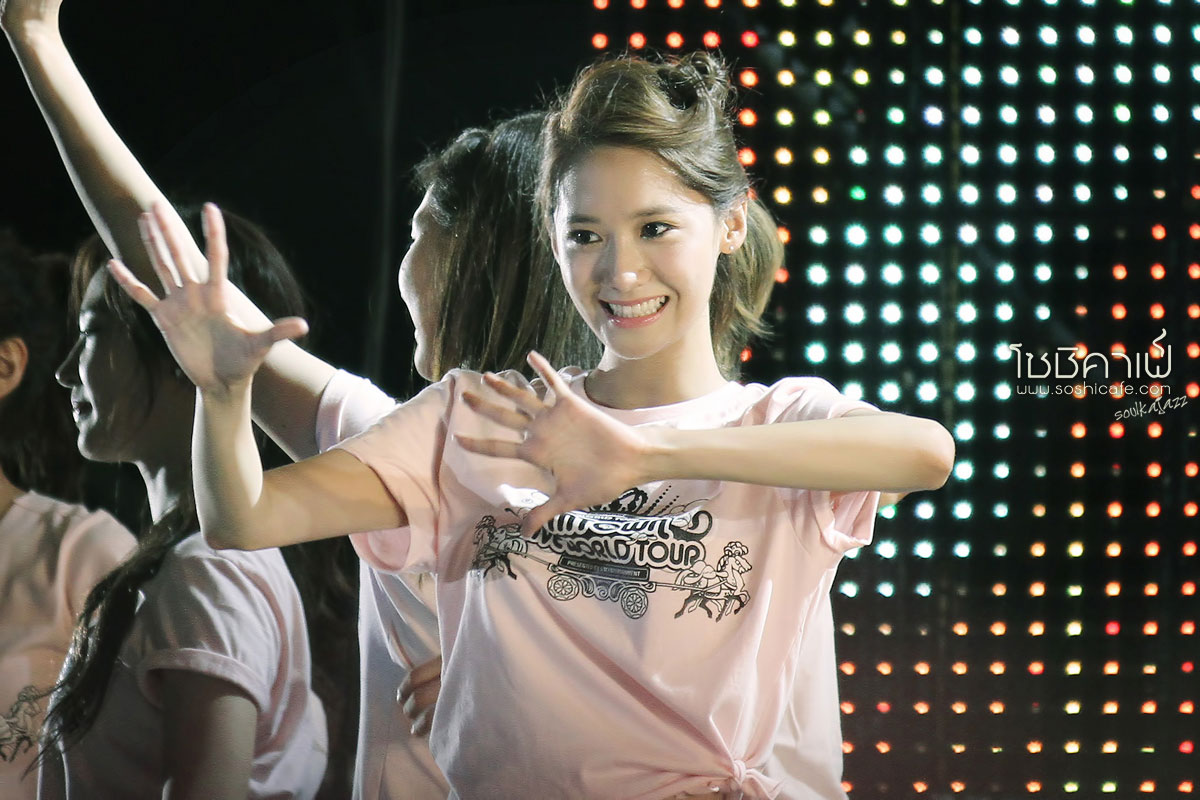 SNSD Yoona SMTown Live Tour in Taiwan 2012