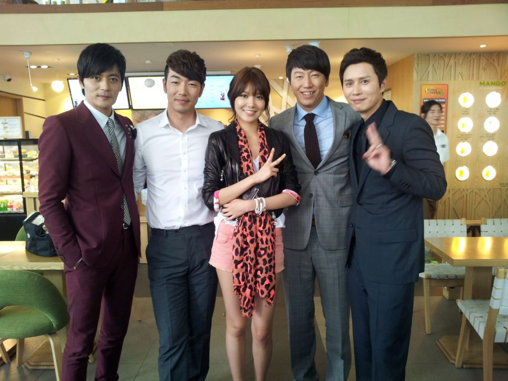 SNSD Sooyoung and Gentleman Dignity actors
