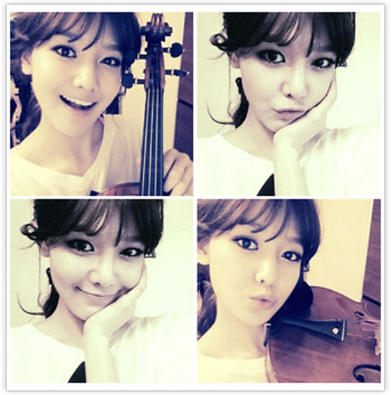 SNSD Sooyoung violinist selca