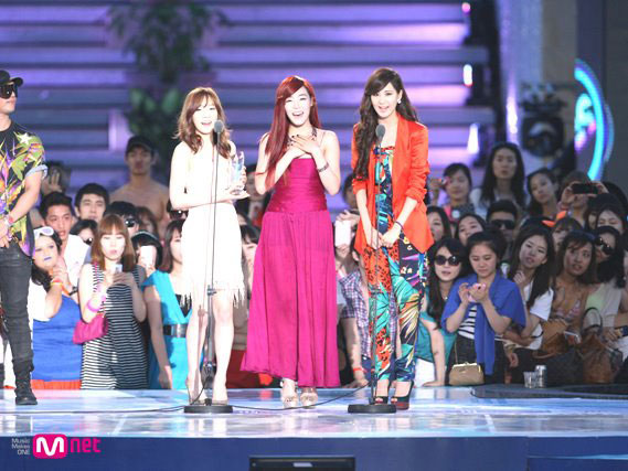 SNSD TaeTiSeo Mnet 20s Choice 2012