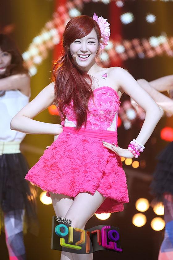 SNSD Tiffany Twinkle Inkigayo