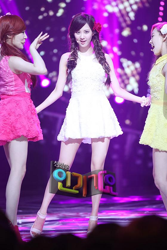 SNSD Seohyun Twinkle Inkigayo