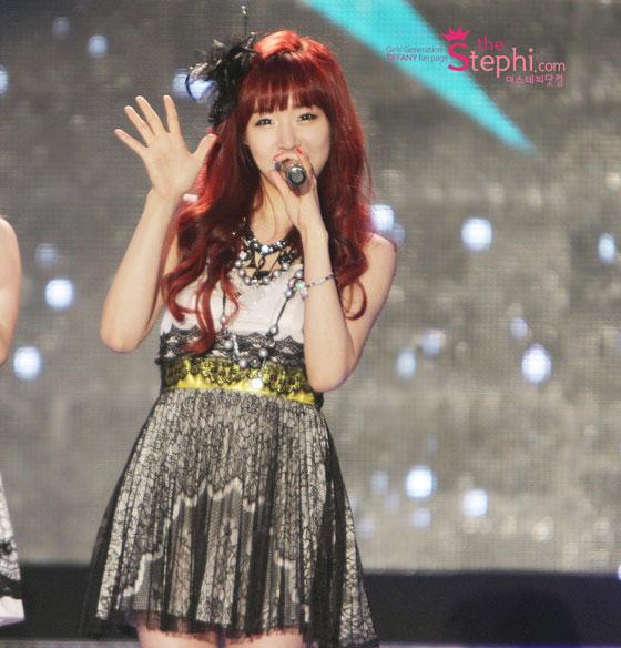 SNSD Tiffany Suncheon Garden Expo Concert