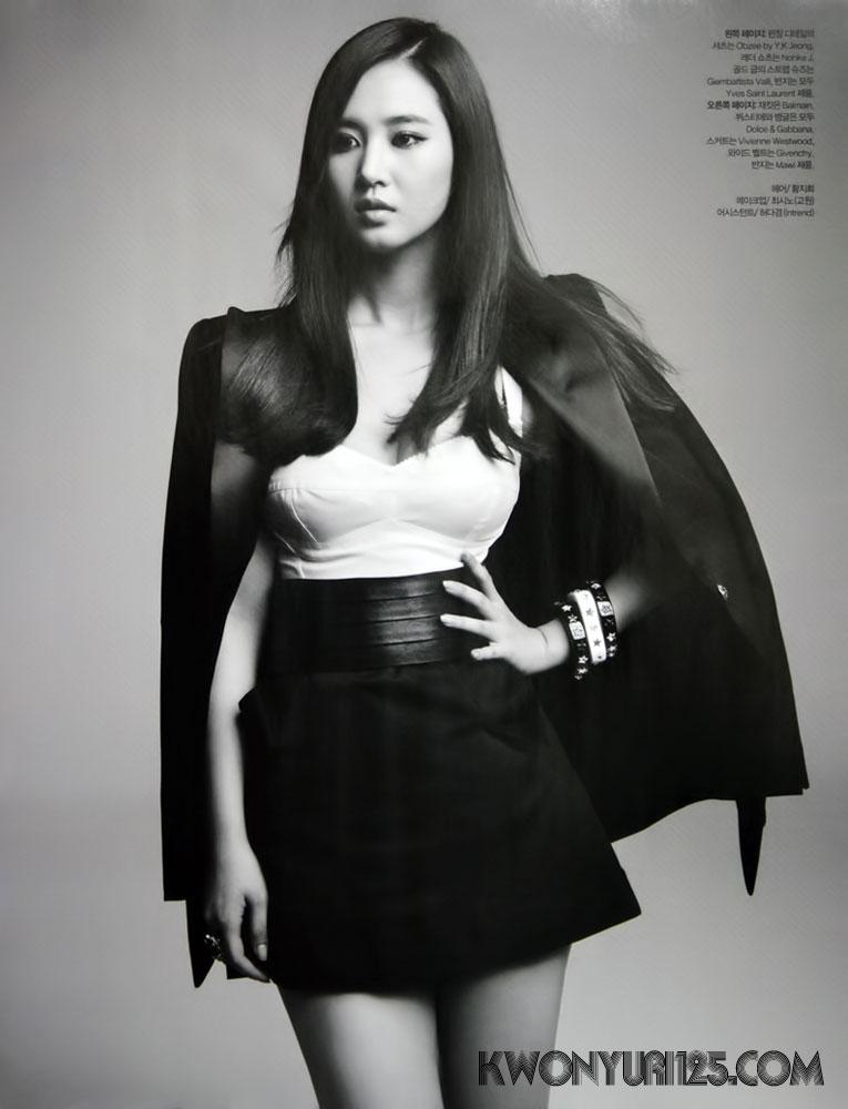 SNSD Yuri Korean Bazaar Magazine
