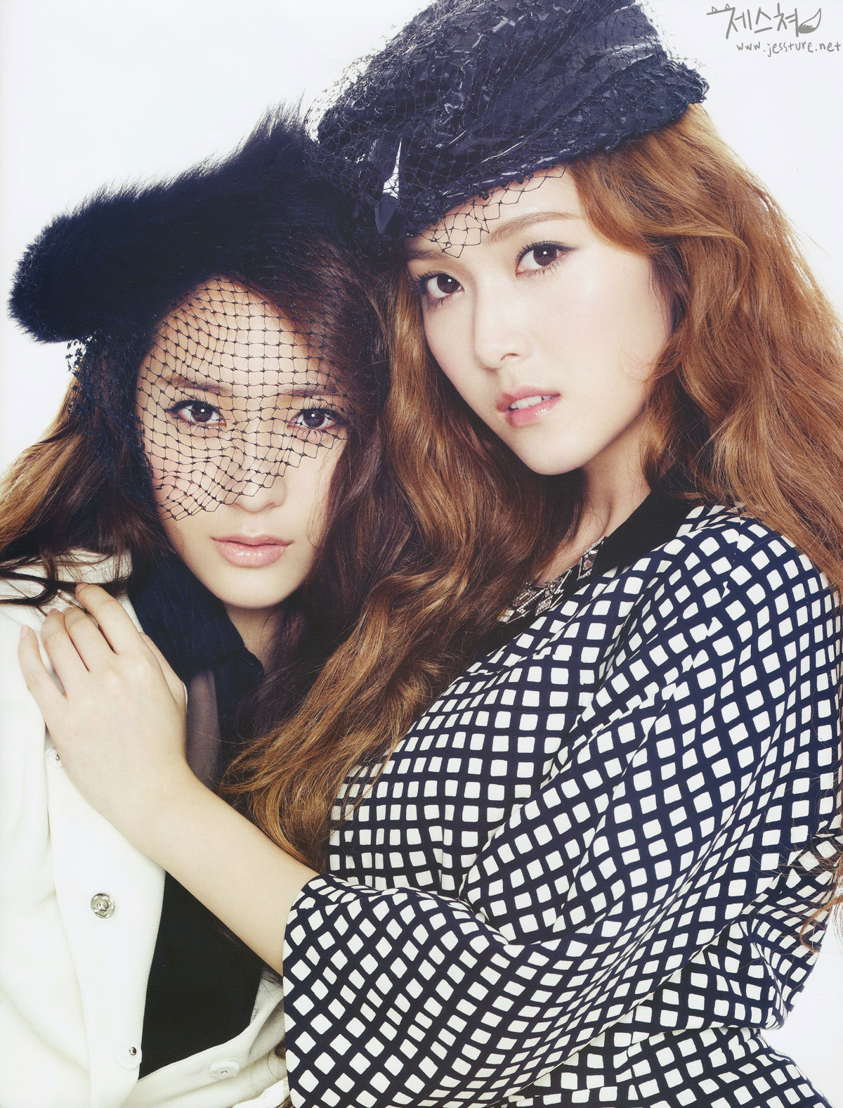Marie Claire amazing Jung sisters
