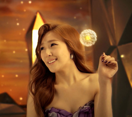 SNSD Tiffany LG 3D TV commercial