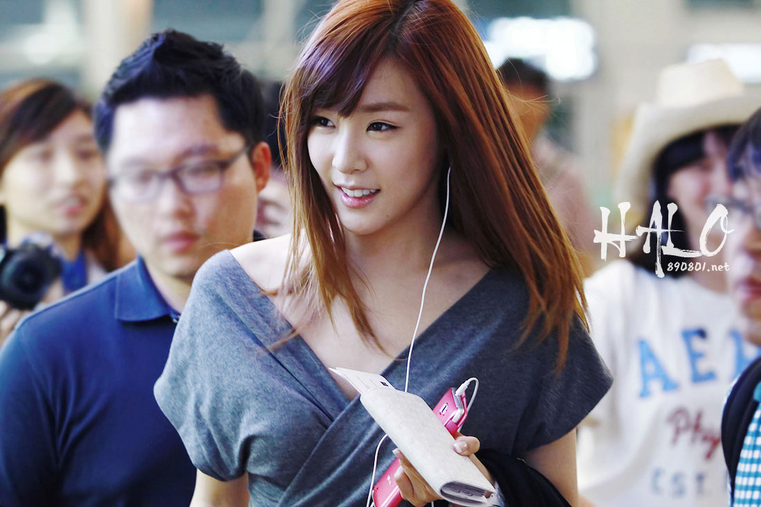SNSD Tiffany Incheon Airport