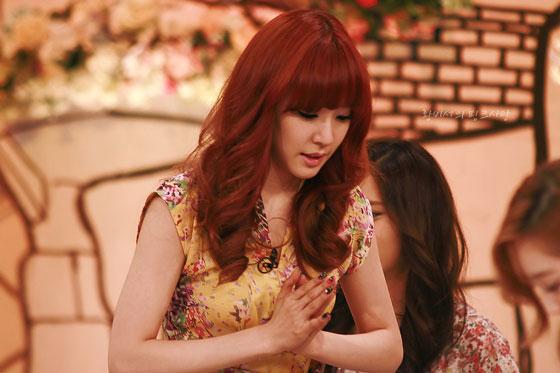 SNSD Tiffany KBS Hello TV show