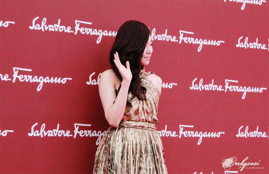 SNSD Tiffany Salvatore Ferragamo event