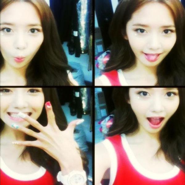 SNSD Yoona Baby G selca