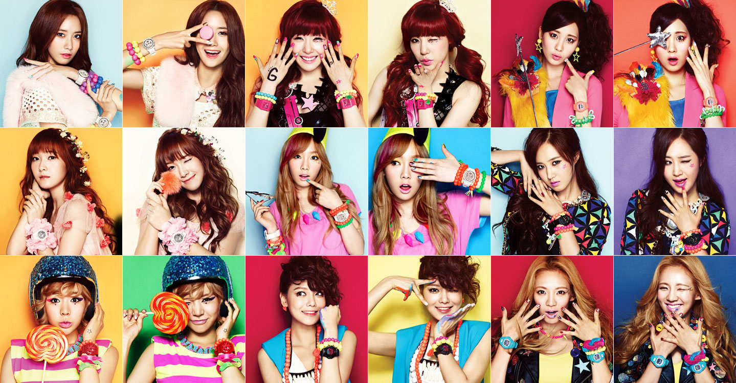 Girls Generation Casio Baby G
