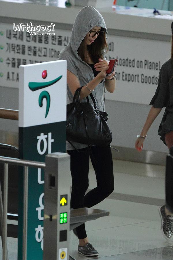 SNSD Yoona Gimpo Airport