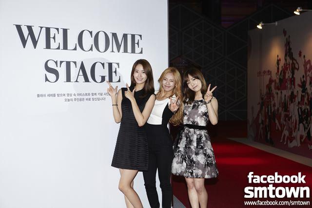 Yoona Hyoyeon Taeyeon SM Art Exhibition