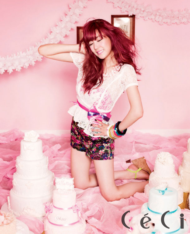 SNSD Tiffany Ceci Magazine