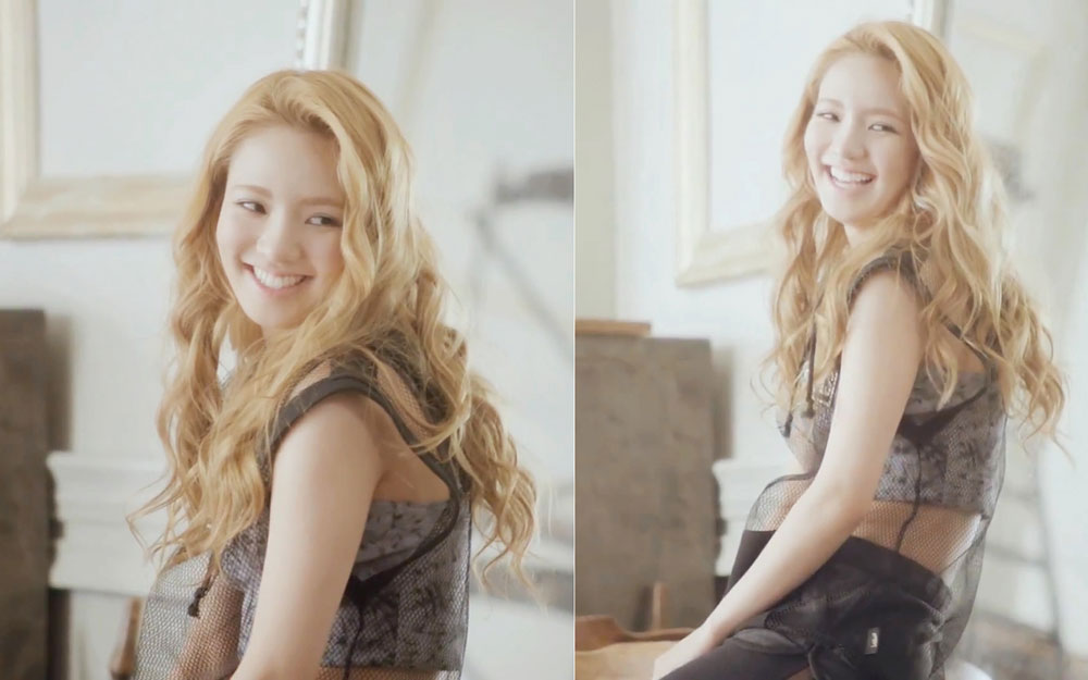 All My Love Is For You MV screencaps