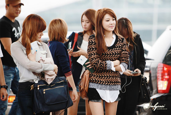Snsd Tiffany Sooyoung Incheon Airport