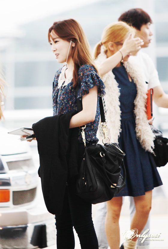 Snsd Taeyeon Incheon Airport