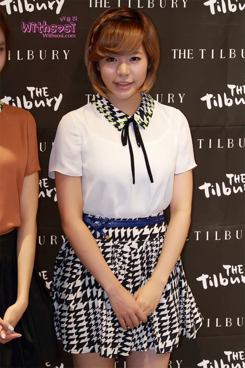 SNSD Sunny The Tilbury Korea