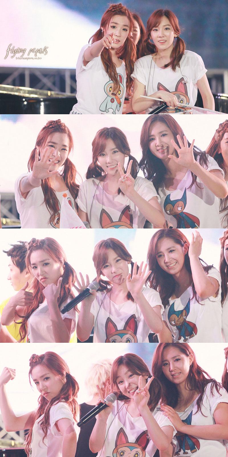 Taeyeon focus @ SMTown Live in Seoul 2012