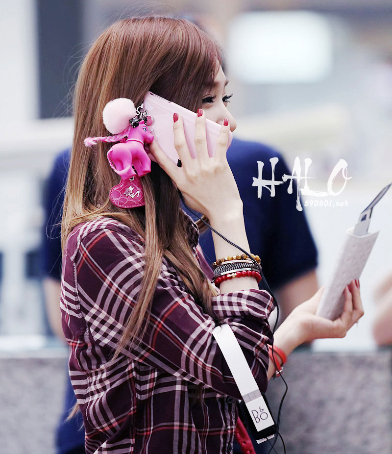 SNSD Tiffany Incheon Airport Los Angeles