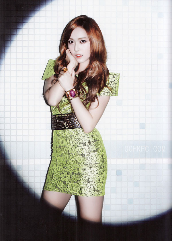 SNSD Jessica Flower Power