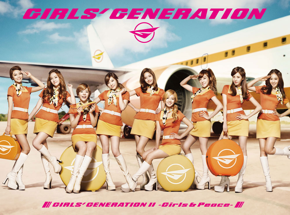 SNSD Girls and Peace Japanese album