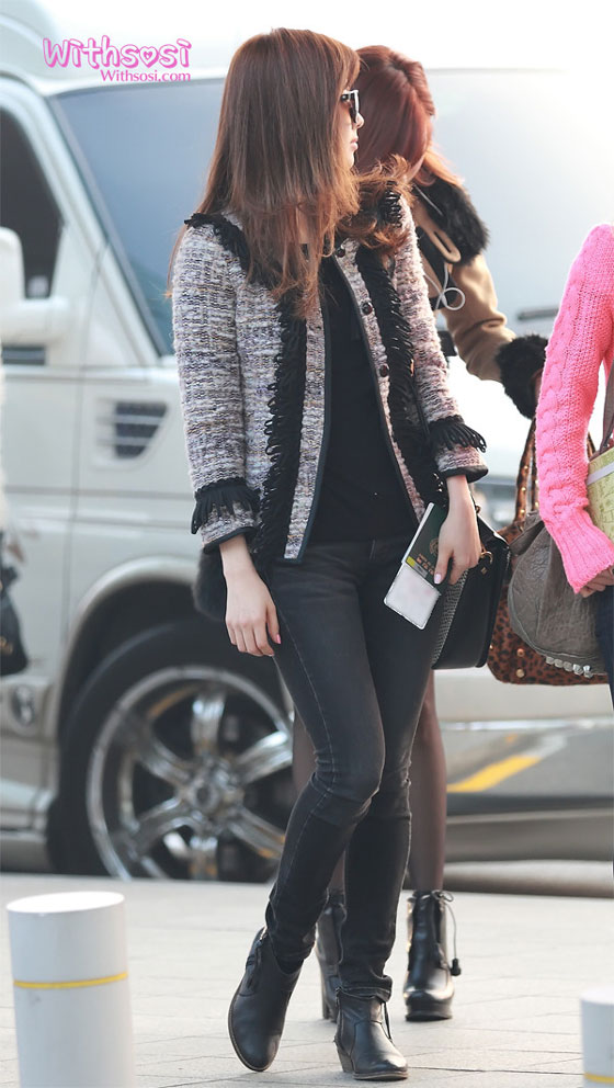 SNSD Seohyun Incheon Airport