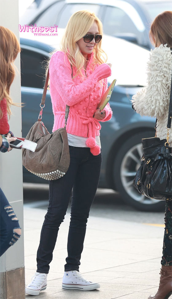 SNSD Hyoyeon Incheon Airport